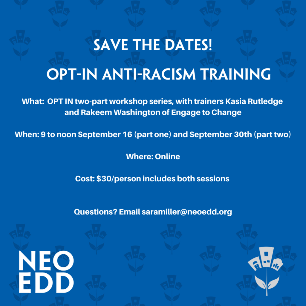 OPT-In Anti-Racism Training Image